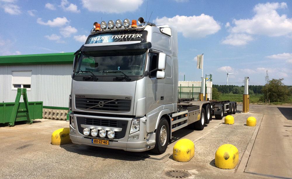 Nieuwe Vrachtwagen Van Erp BV