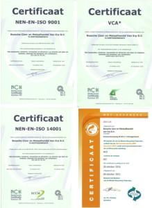 nieuws verzamel certificaat